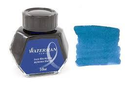 Lo Mực Waterman Xanh Đen (Lọ 50ml)