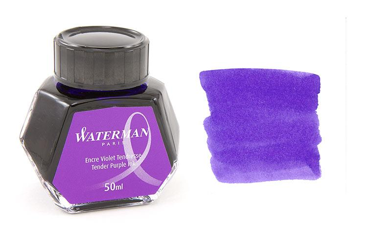 Lọ Mực Waterman màu tím (Lọ 50ml)