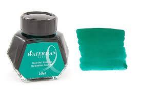 Mực Waterman màu xanh Green (Lọ 50ml)