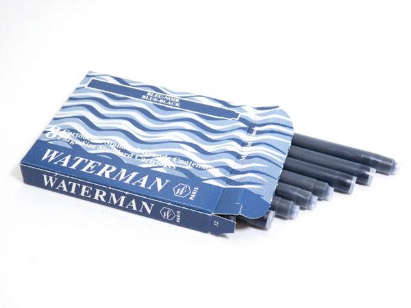 Ống mực Waterman màu xanh đen blue/black