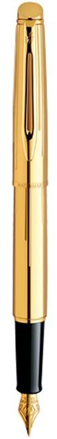 Viết máy Hemisphere Gold Chiseled cài vàng