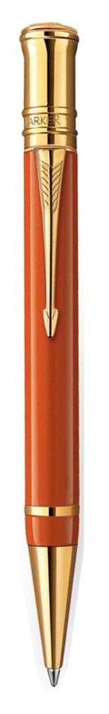 Bút bi Parker Duofold 2014 Big Red cài vàng