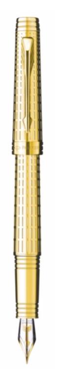 Bút máy parker Premier 09 dulux Gold cài vàng