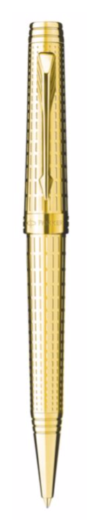 Bút bi parker Premier dulux Gold cài vàng