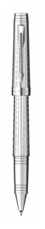 Bút dạ bi parker Premier 09 Silver cài trắng