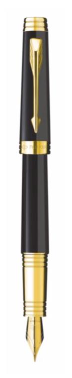 Bút máy parker Premier 09 black cài vàng