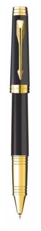 Bút dạ bi parker Premier 09 black cài vàng