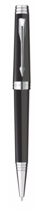 bút bi parker premier 09 black cài trắng