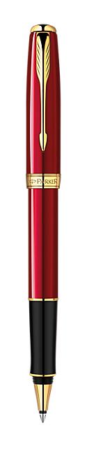 Bút dạ Parker Sonnet 13 Red cài vàng