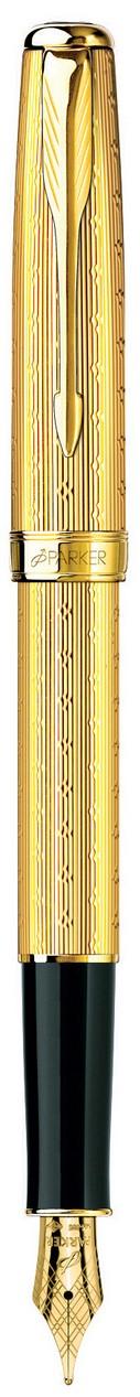 Bút máy Parker Sonet 07 CH Gold cài vàng