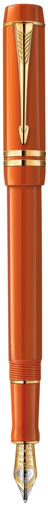 Bút máy Parker Duofold 2014 Centennial Big Red cài vàng