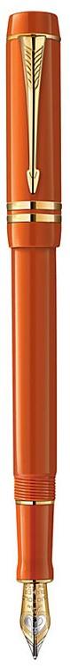 Bút máy Parker Duofold 2014 International Small Red cài vàng