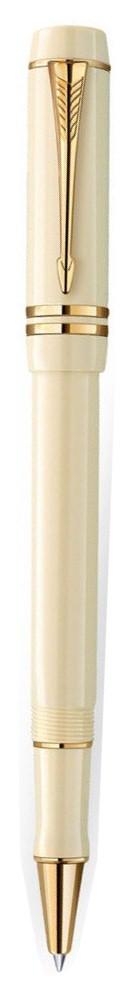 Bút dạ Parker Duofold 2014 Ivory cài vàng